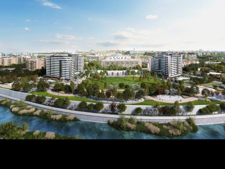 Aberdeen paga 90 millones por su primera operación de build to rent en España