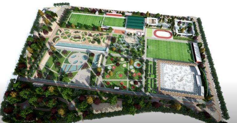 El Canal de Isabel II construirá un centro deportivo en el extinto campo de golf de Chamberí