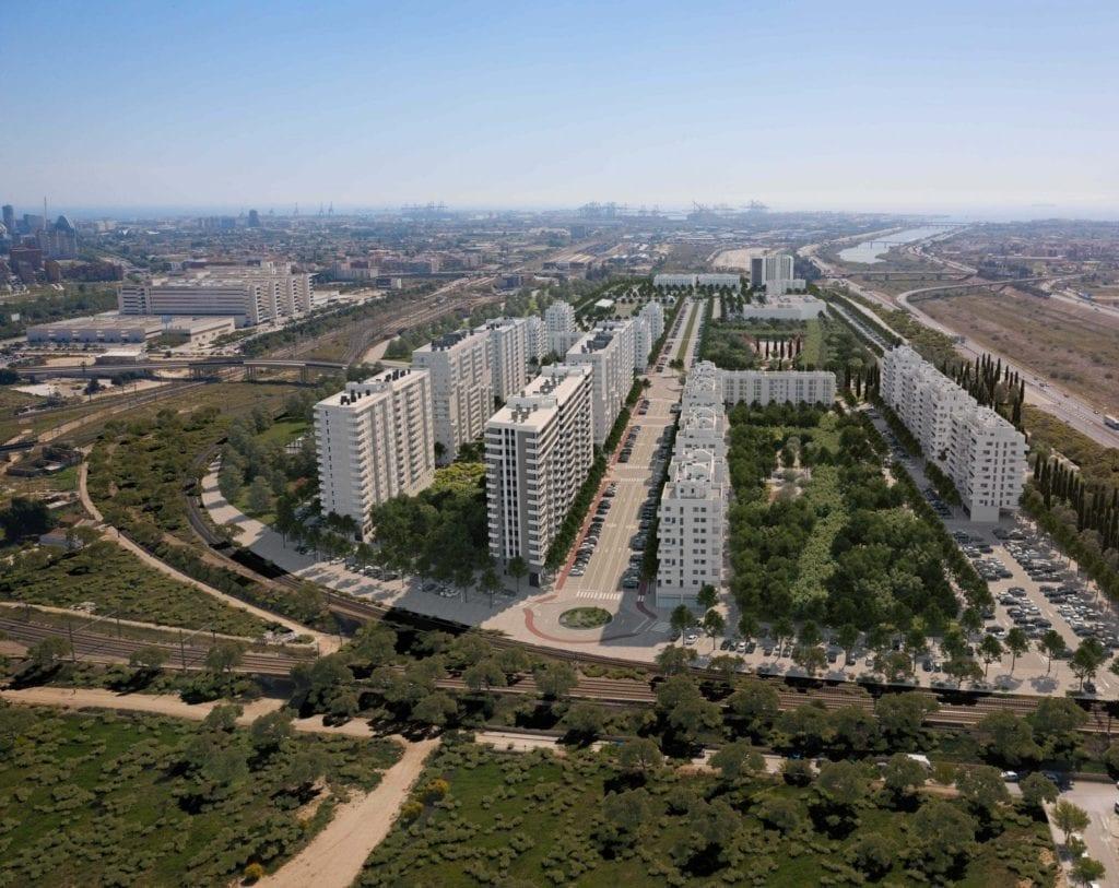 promoción de viviendas de AQ Acentor Turianova Valencia