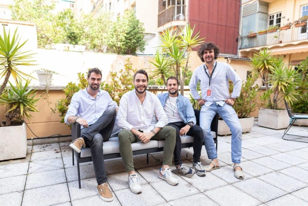 De izquierda a derecha Albert Segú Carles Ribes Jaume Noguera y Gabriel Espín Fuente Aticco