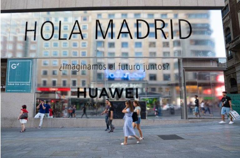 Huawei abre una nueva tienda en el centro comercial Intu Madrid Xanadú