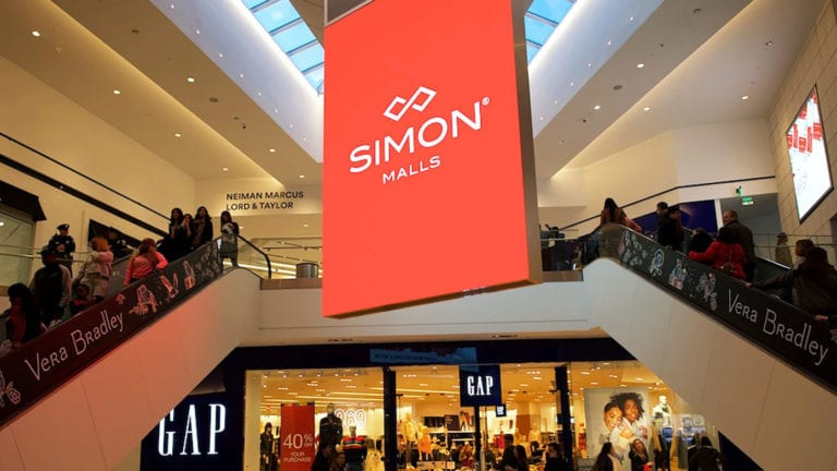 El gigante inmobiliario Simon Property compra dos grupos de moda inquilinos en sus centros