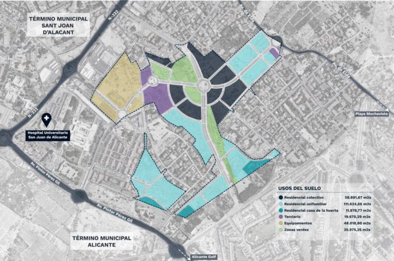 Aedas, Metrovacesa y Realia inician el desarrollo de un nuevo PAU en pleno Alicante