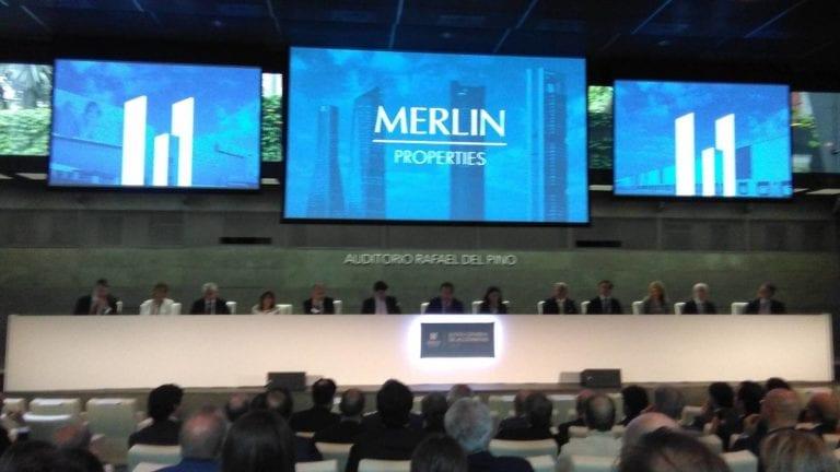 Abelló aprovecha el descuento de la Bolsa y compra acciones de Merlin por un millón de euros