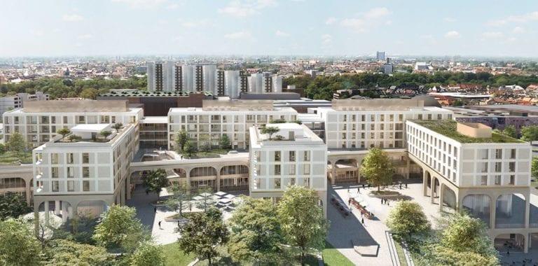 KGAL desembolsa de 250 millones por el desarrollo mixto Perlach Plaza de Múnich