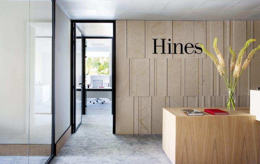 Imagen oficinas centrales del fondo de inversión inmobiliario Hines
