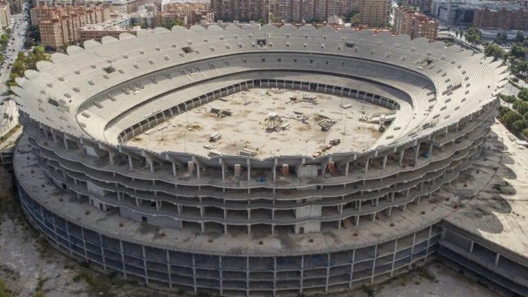 El Valencia busca un fondo de inversión para el proyecto inmobiliario de Mestalla