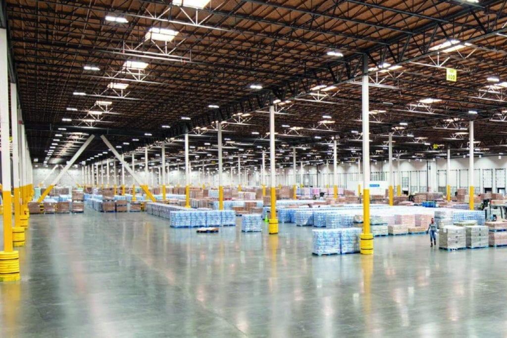 Imagen de un centro logístico como el que pretende desarrollar Montepino en Barberà del Vallès
