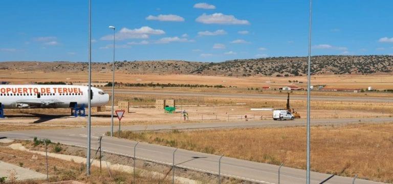 El aeropuerto de Teruel saca a licitación el proyecto y obras de la nueva nave logística