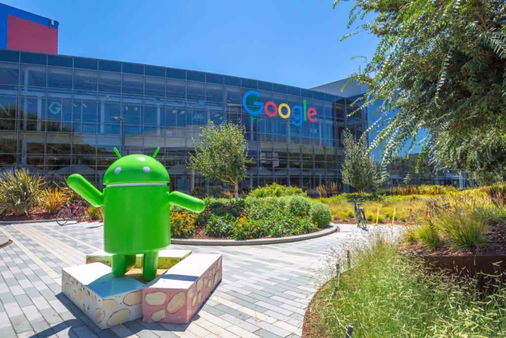sede google en Silicon Valley California fuente shutterstock
