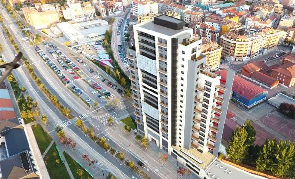 Cinco promotoras optan a adquirir el solar donde se proyectaba la Torre Panorama de Burgos