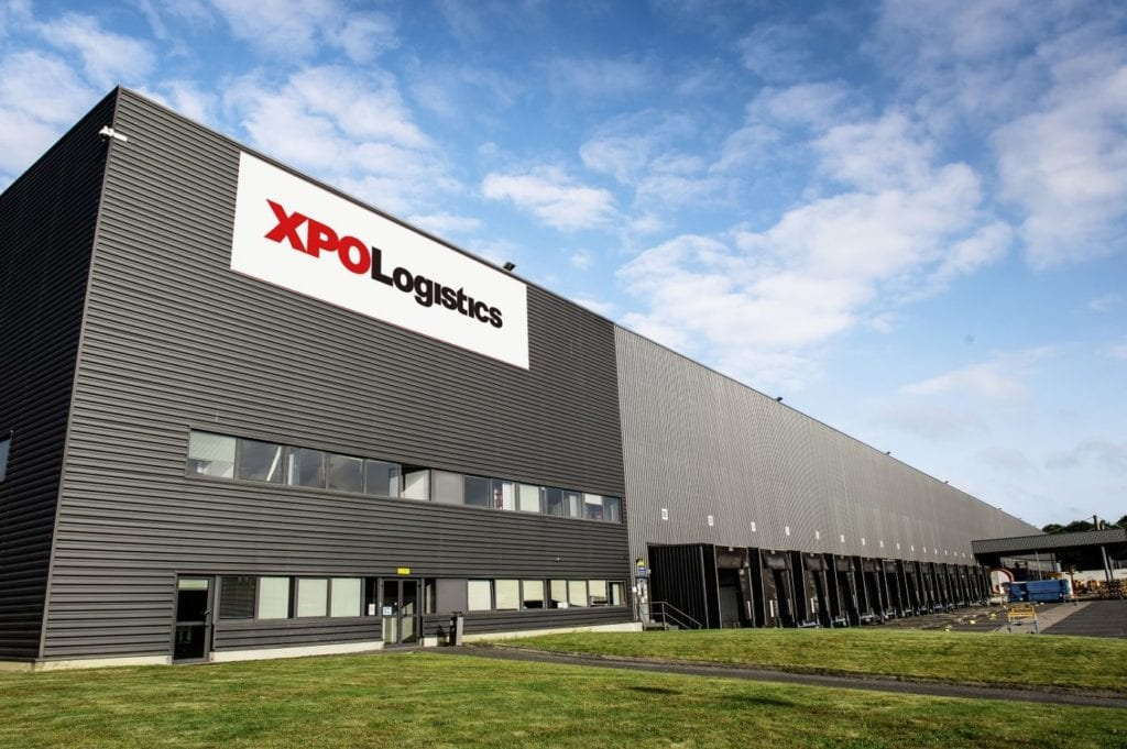 Centro logistico Primark fuente XPO Logistics