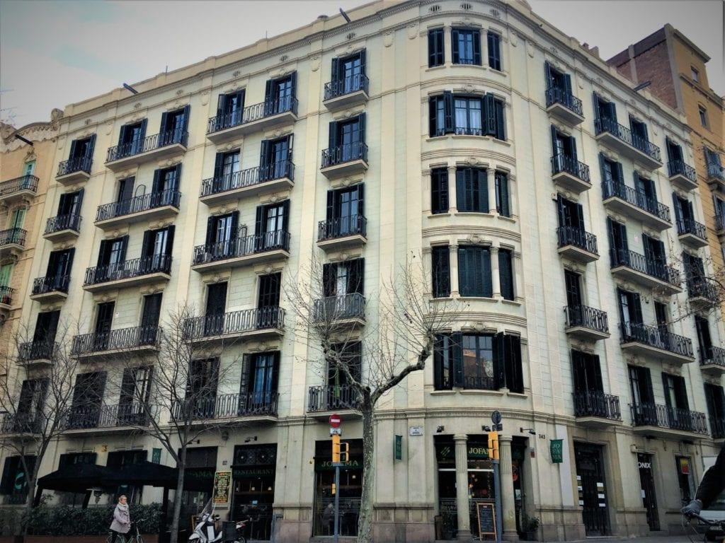 Inmueble de Barcelona propiedad de Optimum 1
