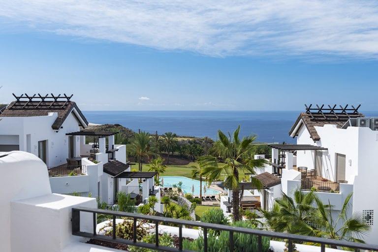 Las Terrazas de Abama en Canarias, catalogado como el mejor hotel de lujo de España