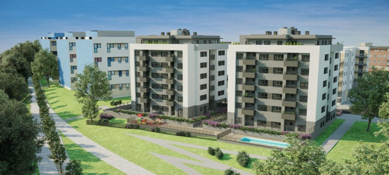 Aedas ultima su primer proyecto de vivienda industrializada en altura