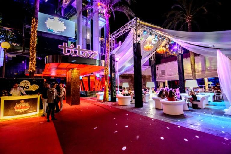 La discoteca Tito's de Palma, en venta por 16,5 millones