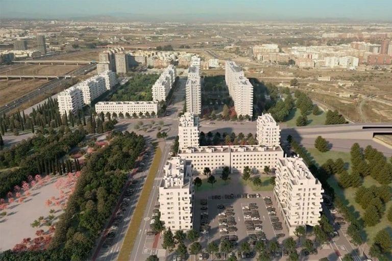 Neinor y Aedas lideran el desarrollo de más de 5.000 viviendas en Valencia