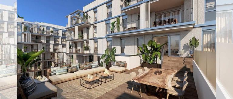 Avantaespacia inicia su actividad en Baleares con un proyecto de casi 100 viviendas