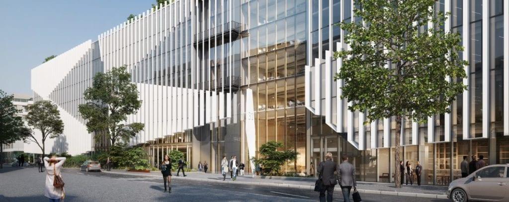 edificio oficinas Shift Paris fuente Unibail Rodamco Westfield
