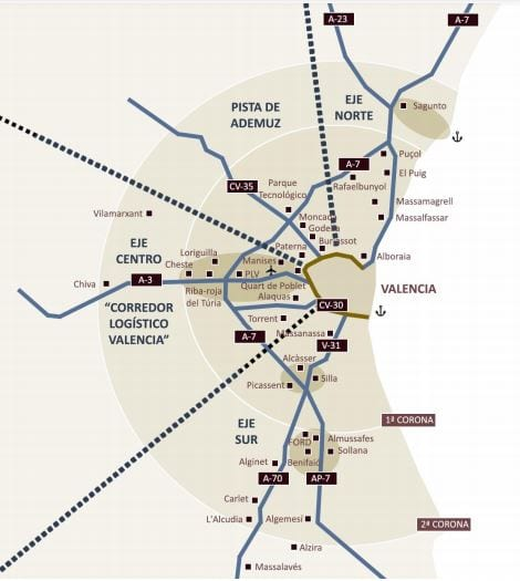 La contratación logística en Valencia se reactiva en el tercer trimestre, según Triangle RE