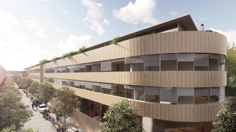 Caledonian prevende el 50% de su proyecto de naves convertidas en viviendas de lujo
