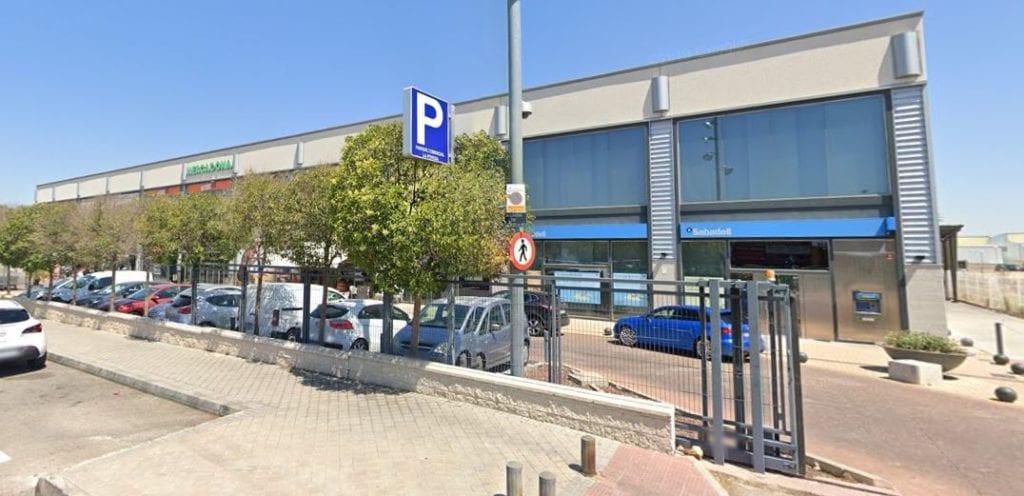 parque comercial La Poveda Arganda del Rey Madrid fuente Google Maps