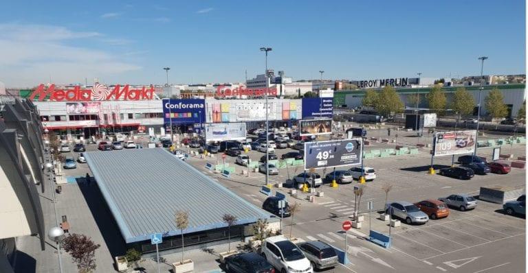 Lar España invierte más de dos millones en la reforma del parque comercial Rivas Futura