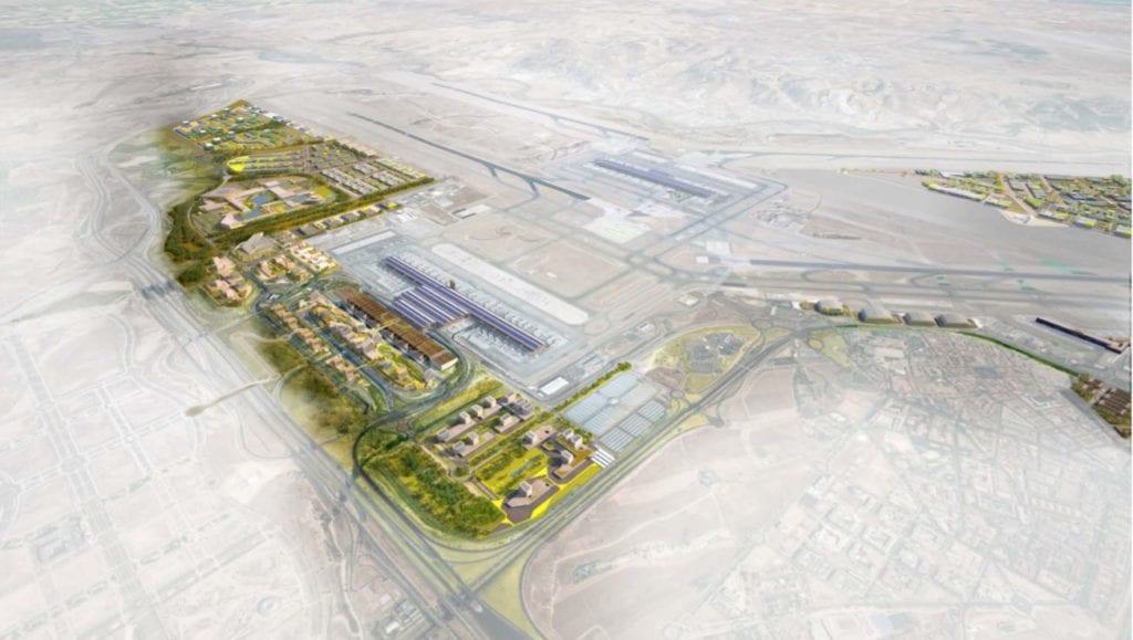 proyecto inmobiliario de Aena en Barajas