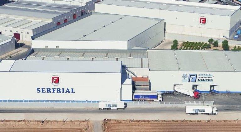 Serfrial, del Grupo Fuentes, contará con un nuevo almacén refrigerado en Murcia