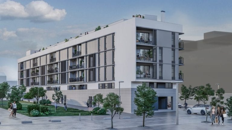 Aelca pone a la venta el último proyecto de obra nueva de Sareb en Zaragoza