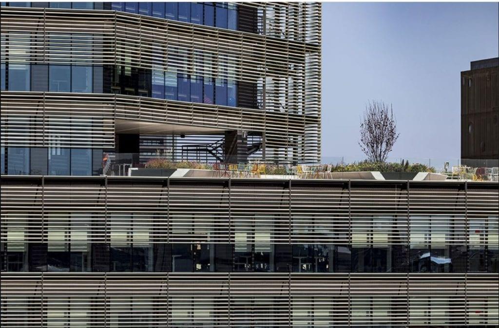 Edificio de oficinas del estudio de arquitectura Batlle Roig en 22@ Barcelona