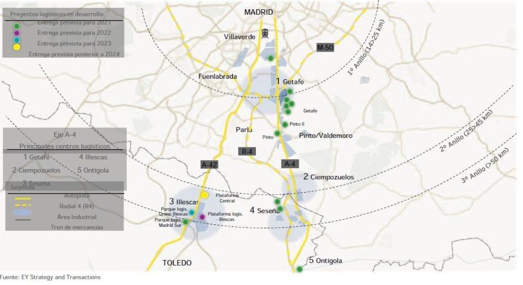 Eje logistico Madrid sur EY