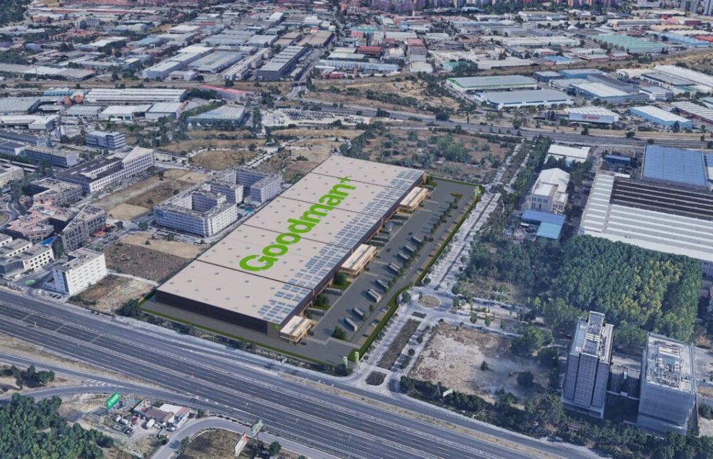 GOODMAN fabrica iveco complejo logistico fuente Ayuntamiento de Madrid