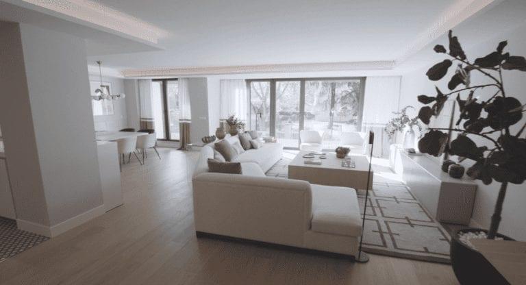 Grosvenor finaliza la reconversión a pisos de un edificio de oficinas en Madrid