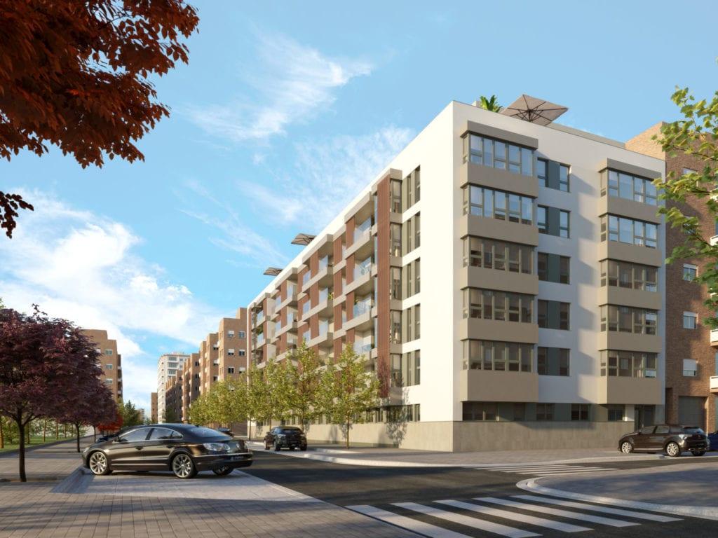 Imagen de la nueva promoción de AEDAS Homes