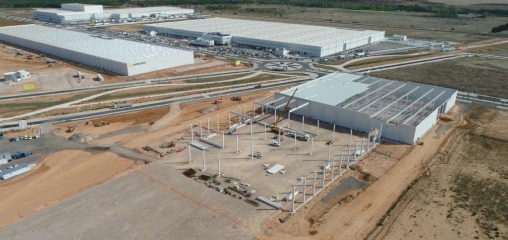 Nueva plataforma logística de Montepino en Guadalajara