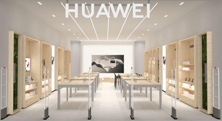 Huawei inaugura en Barcelona su séptima tienda en España