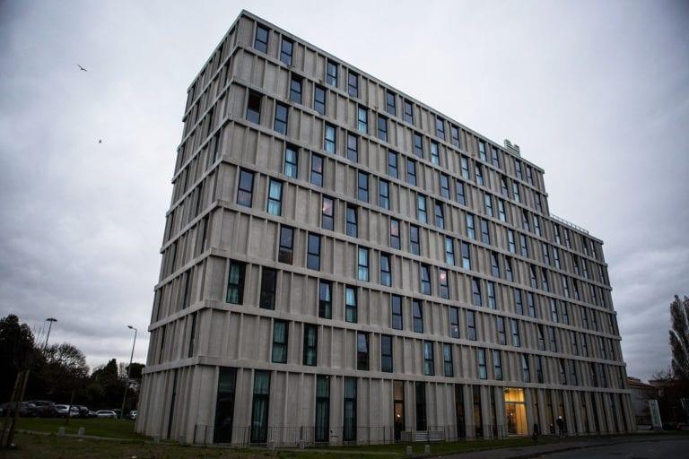 Una residencia de estudiantes de Nuveen, la más verde de Europa