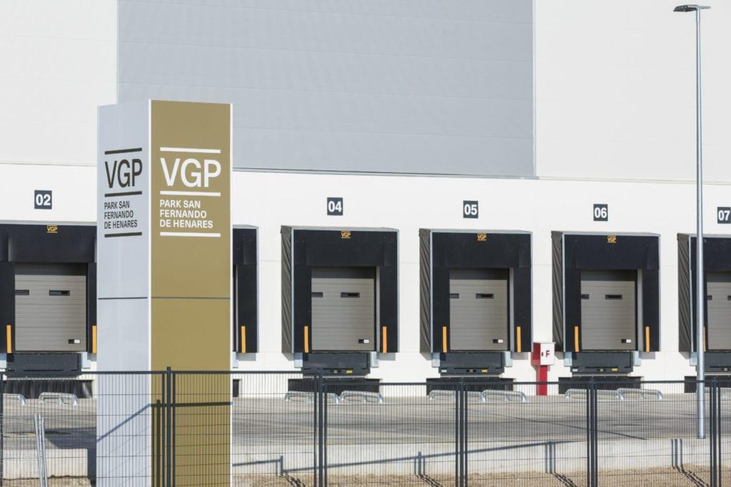 Imagen recreada del nuevo centro de VGP en San Fernando de Henares