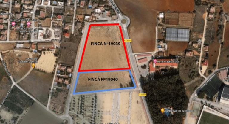 Asemar subasta dos parcelas de 23.034 m2 en Conil de la Frontera por 3 millones
