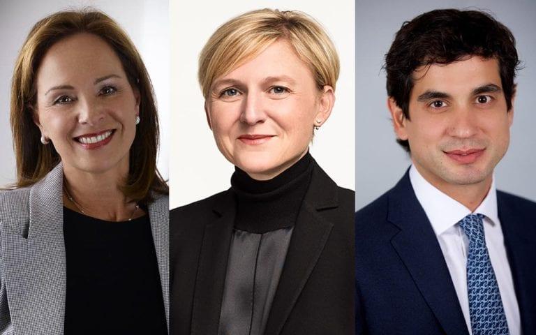 Julia Calabrese, vicepresidenta y Joan Jove y McCabe, consejeros delegados de McArthurGlen