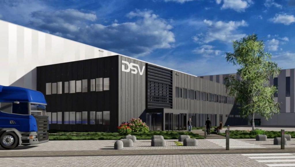 plataforma logistica DSV en paises bajos fuente DSV