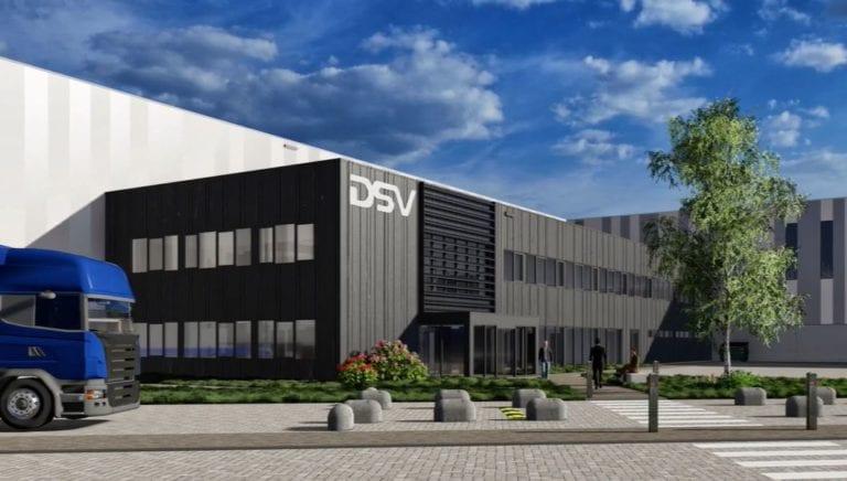Merlin construirá una nave de 45.000 m2 para DSV en Guadalajara