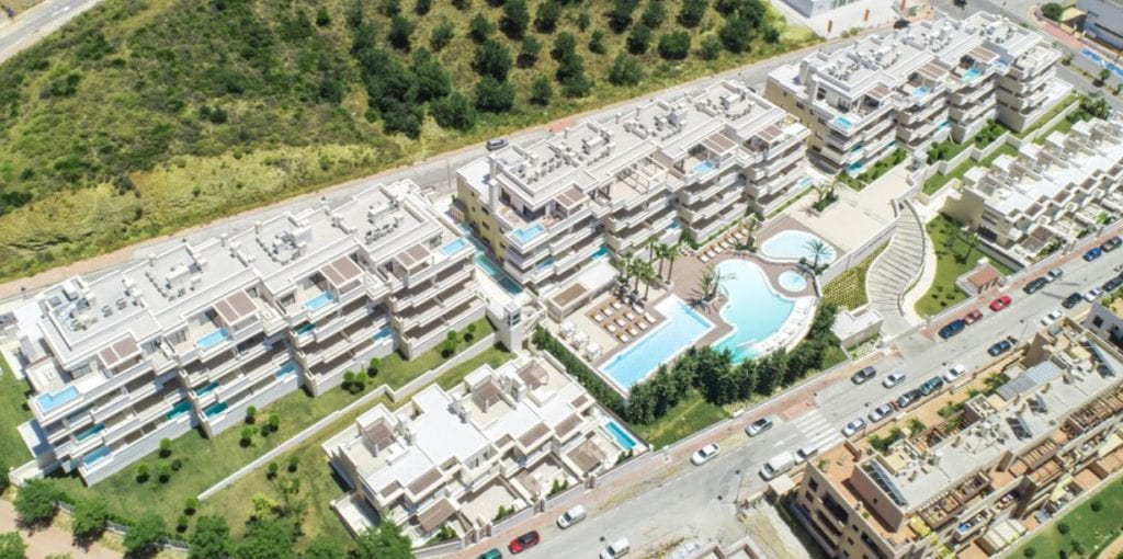 proyecto residencial malaga lujo fuente cht capital