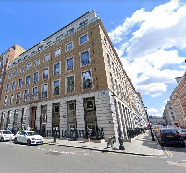sede bp en Londres fuente GOOGLE MAPS