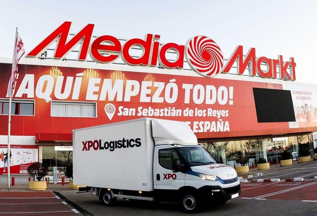 XPO gestionará la entrega de los productos voluminosos de Media Markt