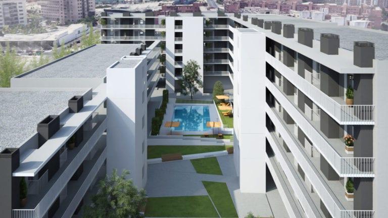 Tectum finaliza la primera promoción de vivienda industrializada en altura