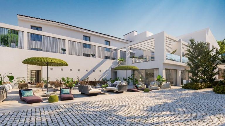 Una empresa convierte un molino en un hotel rural de consumo casi nulo en Granada
