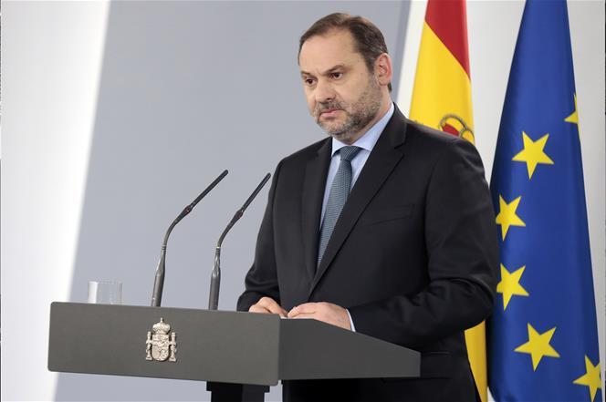 Jose luis Abalos ministro agenda urbana Fuente Pool Moncloa JM Cuadrado