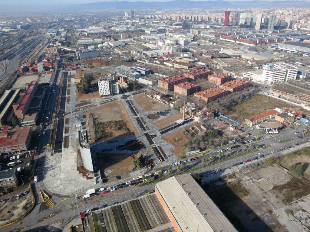 La Marina de Port Vermell en Barcelona